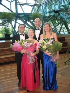 Finalists of the German Australian Opera Grant 2008.
