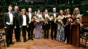Finalists of the RMP Aria Final 2013.